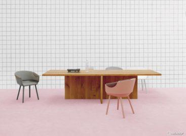 Hai mẫu ghế gỗ nổi bật trong bộ sưu tập HOUDINI của hãng e15