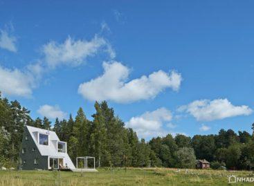 Khám phá kiến trúc độc đáo ngôi nhà hình tam giác tại ngoại ô Thụy Điển