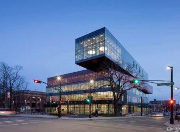 Kiến trúc hiện đại của thư viện trung tâm Halifax