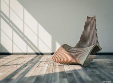 Chiêm ngưỡng chiếc ghế mang phong cách nghệ thuật thư pháp Ả Rập