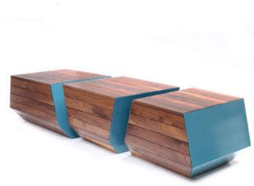 Vẻ đẹp độc đáo của bộ sưu tập ghế dài BENCH Boxcar