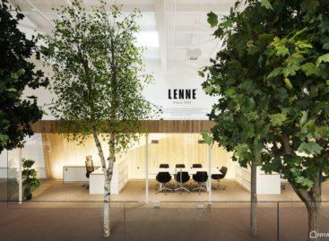 Cùng chiêm ngưỡng văn phòng LENNE độc đáo với kiến trúc gần gũi với thiên nhiên
