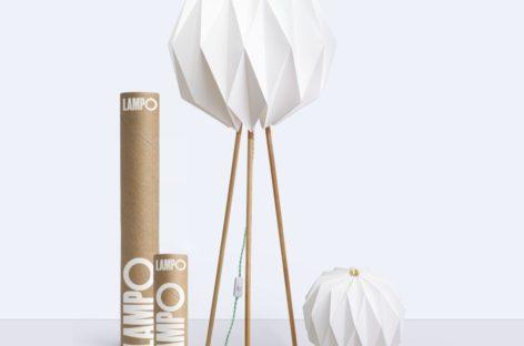 Lampo – Chiếc đèn xếp độc đáo