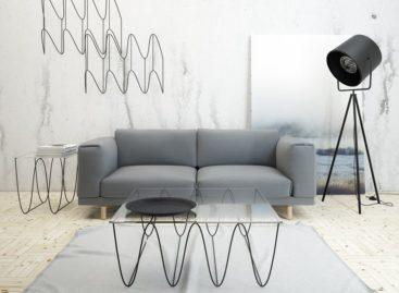Bộ sưu tập bàn và kệ treo the Kroll của nhà thiết kế Max Voytenko