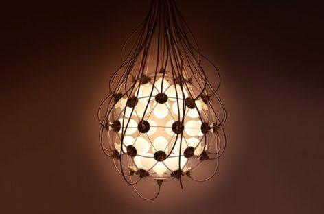 Chiêm ngưỡng bộ đèn treo độc đáo của nhà thiết kế Satoshi Itasaka