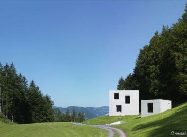 Ngôi nhà có thiết kế độc đáo tại vùng núi Austria, nước Áo