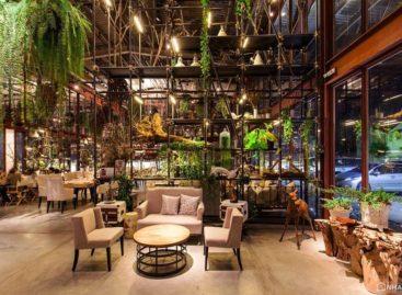 Nhà hàng tại Thái Lan có thiết kế độc đáo như một khu vườn