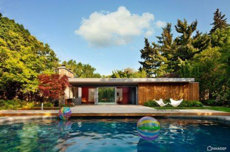Pool House – Ngôi nhà mang phong cách Mid-century