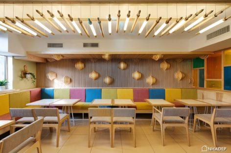 Khám phá quán café với thiết kế đèn độc đáo