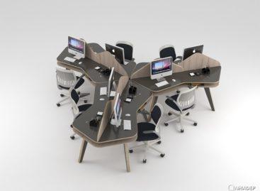 Bộ sưu tập nội thất văn phòng và hiện đại của Nos