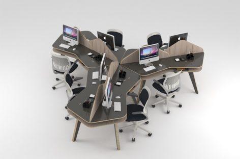 Ngắm nhìn các sản phẩm nội thất văn phòng năng động và hiện đại của Nos
