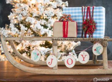 Những ý tưởng thiết kế handmade độc đáo cho mùa giáng sinh sắp đến