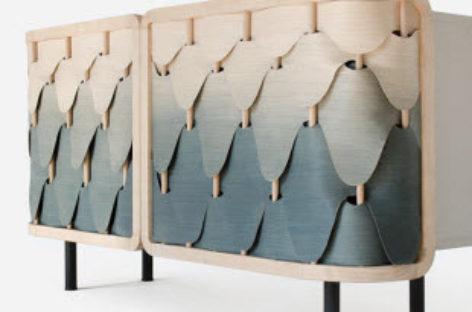 Vẻ đẹp thu hút của chiếc tủ gỗ Alato Cabinet theo phong cách ombre
