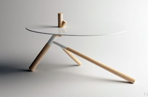 Ngắm nhìn chiếc bàn Chieut đẹp mắt với thiết kế tối giản