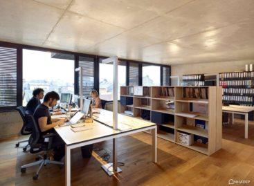 Chiêm ngưỡng tòa nhà văn phòng Rocade với thiết kế mới lạ