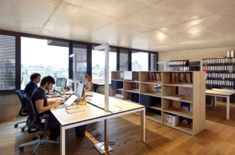 Chiêm ngưỡng tòa nhà văn phòng Rocade tại Luxembourg với lối thiết kế mới lạ