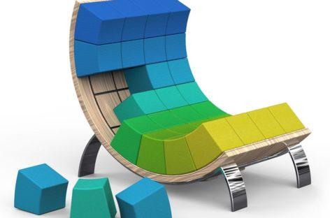 Ý tưởng thiết kế nội thất độc đáo từ những khối ru-bích đa sắc màu