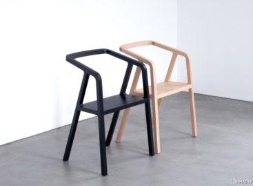 Ghế A-Chair độc đáo với lối thiết kế tối giản