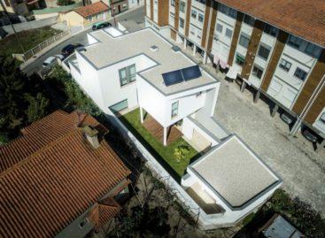Thiết kế độc đáo của ngôi nhà tại Bồ Đào Nha