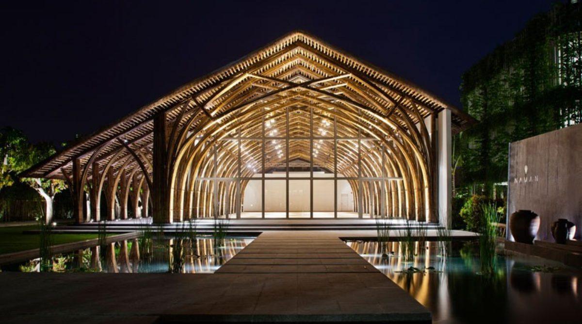 Chiêm ngưỡng kiến trúc bằng tre của kiến trúc sư Võ Trọng Nghĩa tại Đà Nẵng