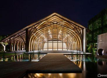 Chiêm ngưỡng khối kiến trúc bằng tre của kiến trúc sư Võ Trọng Nghĩa tại Đà Nẵng