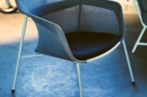 Chiếc ghế có thiết kế độc đáo với kỹ thuật dệt 3D