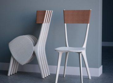Ghế xếp Palfrey mang vẻ đẹp thanh lịch với thiết kế đơn giản