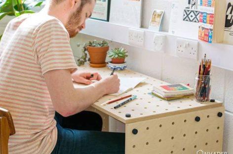 The Crisscross – Bộ sưu tập nội thất lắp ráp độc đáo của nhà thiết kế Sam Wrigley