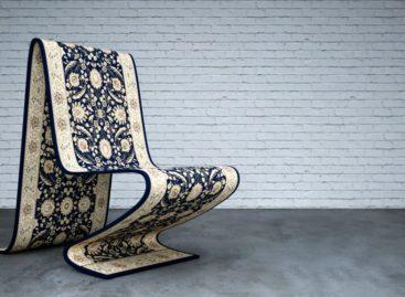 The Carpet Chair – Chiếc ghế độc đáo với hình dáng của một chiếc thảm ma thuật