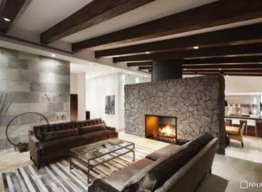 Một số ý tưởng độc đáo để ngăn cách không gian phòng khách và nhà bếp