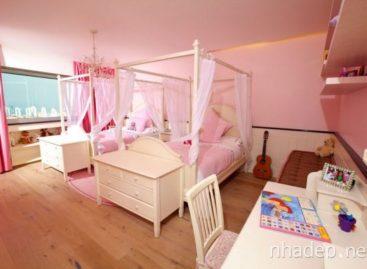 15 mẫu trang trí phòng của bé theo phong cách hiện đại