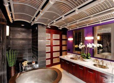 23 phòng tắm lộng lẫy với tông màu tím quyến rũ (Phần 2)
