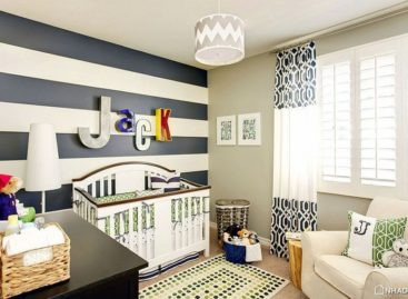 25 thiết kế phòng cho trẻ sơ sinh với màu xanh nổi bật (Phần 1)