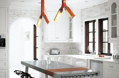5 không gian nhà bếp hiện đại với thép không gỉ