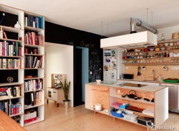 5 không gian nội thất hiện đại cùng bảng phấn đen