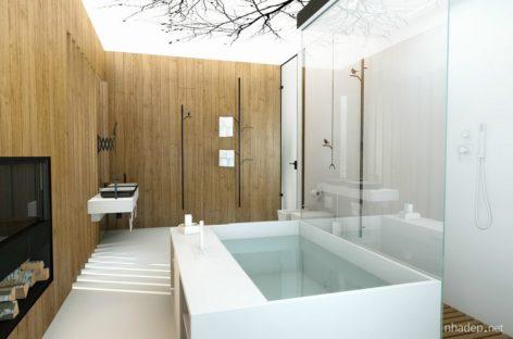 Chiêm ngưỡng 8 mẫu phòng tắm xa hoa và sang trọng bậc nhất (Phần 1)