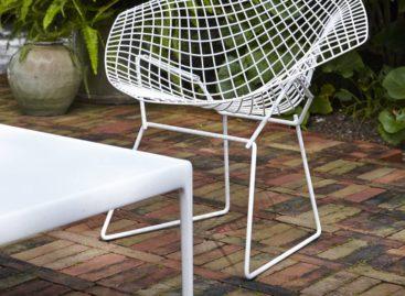 Chiếc ghế Diamond độc đáo của Harry Bertoia