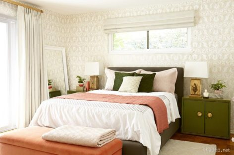 Mang sức sống mới vào phòng ngủ với những tông màu tươi sáng
