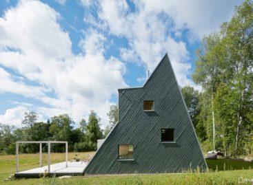 Ngôi nhà nghỉ dưỡng có cấu trúc tam giác ở Thụy Điển