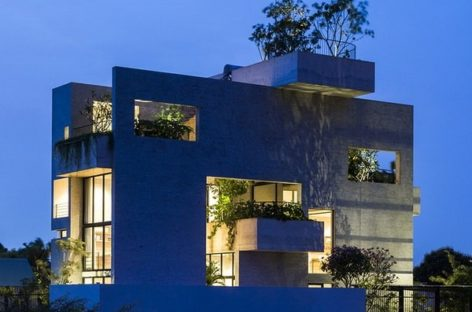 Bình House – ngôi nhà với những khu vườn lệch tầng