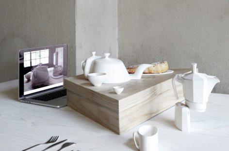 Bộ đồ dùng bàn ăn bằng gốm đánh lừa thị giác