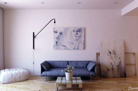 Một số phong cách thiết kế nội thất ấn tượng cho phòng khách (phần 2)