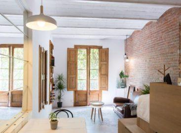Ngắm nhìn không gian nội thất một căn hộ 25 mét vuông tại Barcelona
