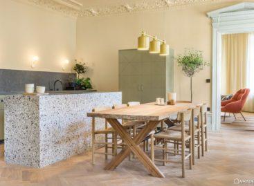 Note Design Studio cải tạo lại căn hộ Hidden Tints tại Stockholm