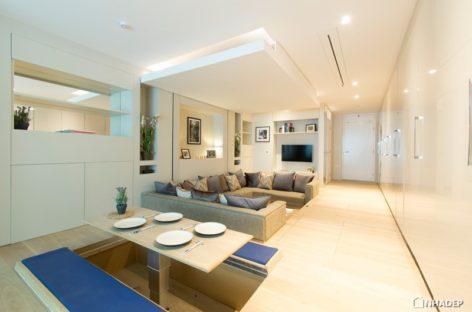 Thiết kế thông minh cho những căn hộ nhỏ hạn chế về diện tích