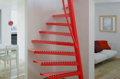 Một số mẫu cầu thang nhỏ gọn giúp tiết kiệm không gian