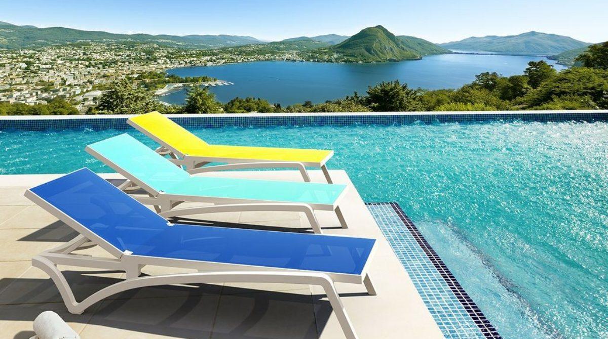 [Sản phẩm đang bán tại Việt Nam] Ghế hồ bơi Pacific của Siesta exclusive