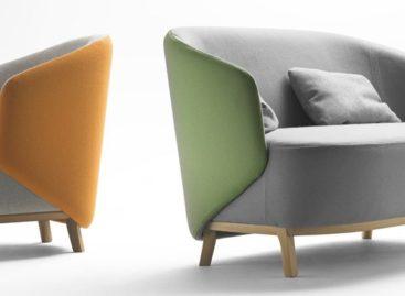 Chiếc ghế bành Concha xinh xắn của Samuel Accoceberry