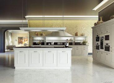 Gian bếp Gioconda trang nhã cùng kết cấu linh hoạt