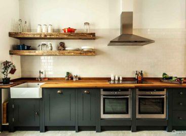 Giới thiệu tủ bếp British Standard được làm thủ công